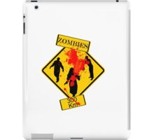 Zombies Crossing iPad Case/Skin