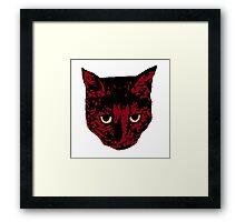 Darth Kitty Framed Print