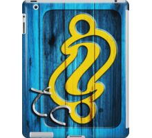 Blue Wood iPad Case/Skin