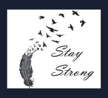 Stay Strong Feathers Kids Clothes
