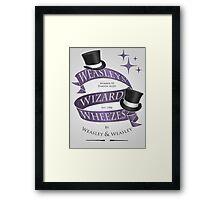 Weasleys' Wizard Wheezes Framed Print