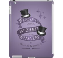 Weasleys' Wizard Wheezes iPad Case/Skin
