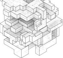 Isometric Cube Sticker