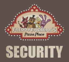 Five Nights at Freddy's Security Logo Kids Clothes