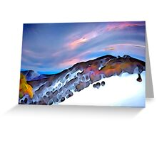 Chamois, Mt Buller Greeting Card