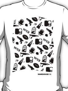 Warehouse 13 Items T-Shirt
