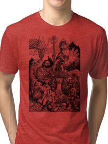 Red Box Joy Tri-blend T-Shirt