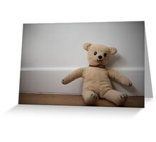 Day 81 - teddy Greeting Card