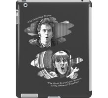 The Doctor and Donna Noble (iPad and iPhone case) iPad Case/Skin