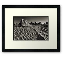 Morning Mungo in Mono Framed Print