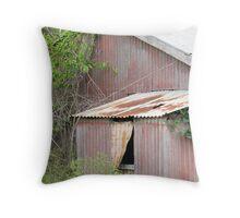 Rustic Manor   Throw Pillow