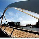 Yarra Footbridge  by Tom Newman