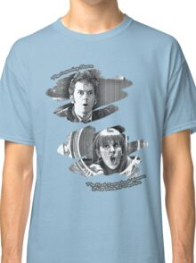 The Doctor and Donna Noble (without DW Logo) Classic T-Shirt