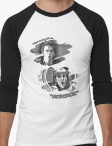 The Doctor and Donna Noble (without DW Logo) Men's Baseball ¾ T-Shirt