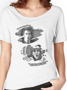 The Doctor and Donna Noble (without DW Logo) Women's Relaxed Fit T-Shirt