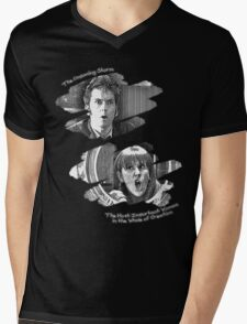 The Doctor and Donna Noble (without DW Logo) Mens V-Neck T-Shirt