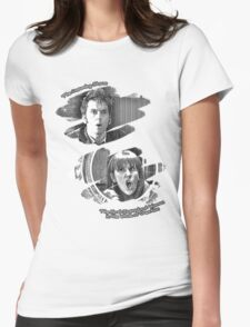 The Doctor and Donna Noble (without DW Logo) Womens Fitted T-Shirt