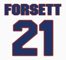 National football player Justin Forsett jersey 21 T-Shirt