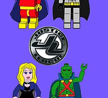 LEGO Justice League-Team 1 by FlyingDreamer