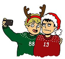 A Very Selfie Christmas by seabsbiscuit
