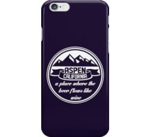 Aspen, California iPhone Case/Skin