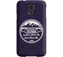 Aspen, California Samsung Galaxy Case/Skin