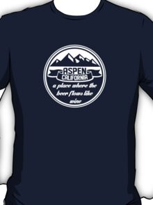Aspen, California T-Shirt