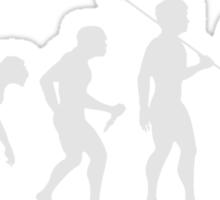 Evolution of Bean (White) Sticker