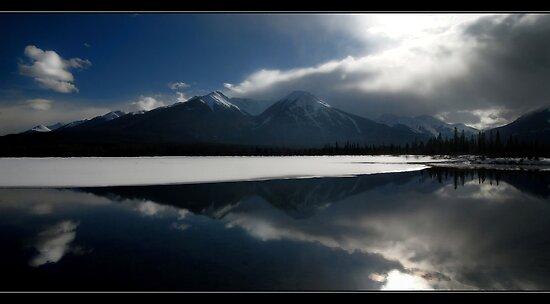 Vermillion Reflections by Robert Mullner