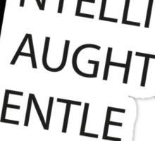 S.I.N.G.L.E Sticker