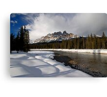 Back in Bow River Again.. Canvas Print
