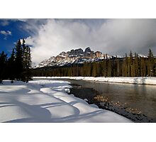 Back in Bow River Again.. Photographic Print