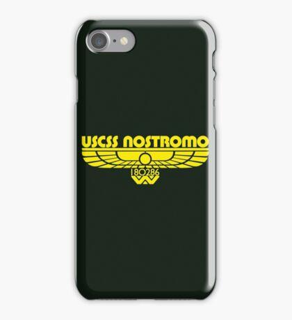 USCSS Nostromo iPhone Case/Skin
