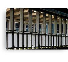Terminal Lines Canvas Print