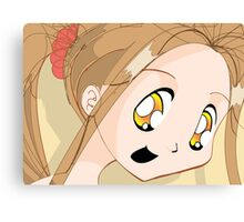 Manga girl 02 Canvas Print
