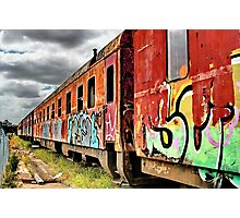 """""""Out Of Service"""" Photographic Print"""