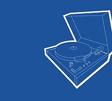 record player by Reece Ward