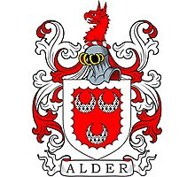 Alder Coat of Arms Photographic Print