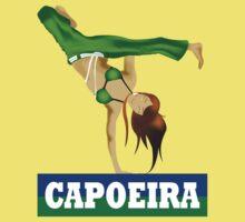 Capoeira Batizado Girl Version Kids Clothes