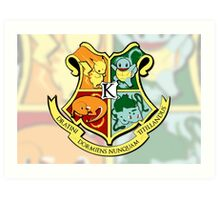 The Kanto School of Witchcraft and 'Rizardry Art Print