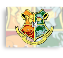 The Kanto School of Witchcraft and 'Rizardry Canvas Print