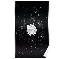 Isometric Cube v2 Poster