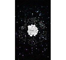 Isometric Cube v2 Photographic Print