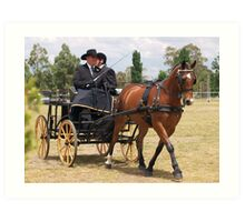Carriage Driving Art Print