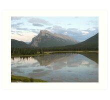 The Canadian Rockies Art Print