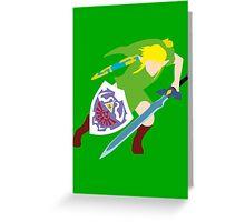 The Legend of Zelda - Link Greeting Card