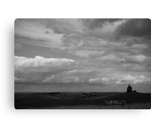 Sketching the View Canvas Print