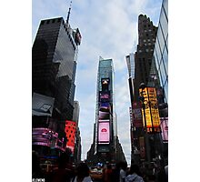 Times Square Summertime Photographic Print