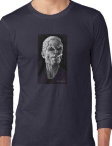 School Hard - Spike - BtVS Long Sleeve T-Shirt