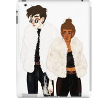 Criminals and Fur Coats iPad Case/Skin